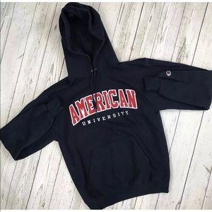 Vintage Champion American University Hoodie GUC